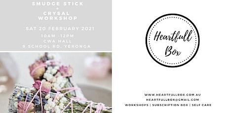 Crystal & Smudge Stick Workshop tickets