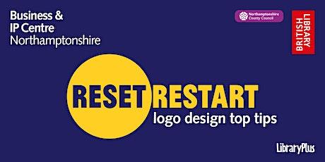 Reset. Restart: logo design top tips tickets