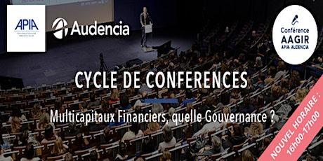 Conférence AAGIR : «Multicapitaux Financiers, quelle gouvernance ?» billets