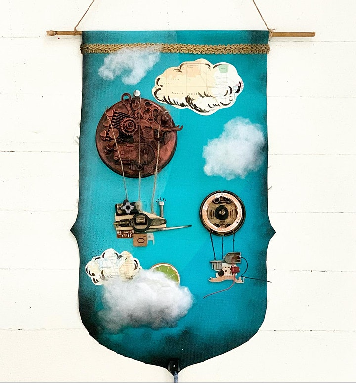 Tropical Steampunk Upcycled - Workshop 1 - Banners image