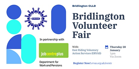 ERVAS Volunteer Fair (Bridlington) tickets