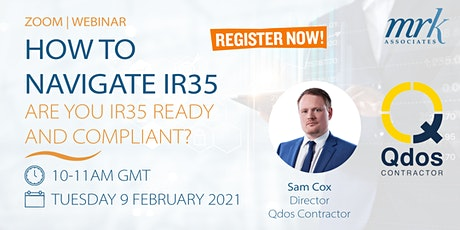 How to Navigate IR35: Are you IR35 Ready and Compliant? tickets