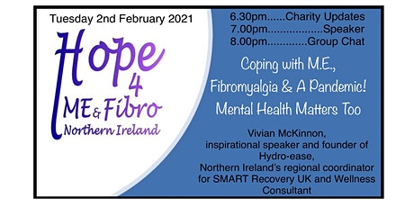 Coping with M.E., Fibromyalgia & A Pandemic with Vivian McKinnon tickets
