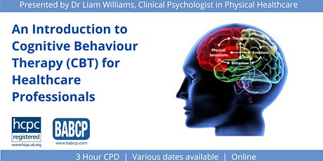 Cognitive Behaviour Therapy (CBT) In Healthcare tickets