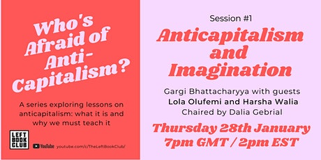 Session #1: Anticapitalism and Imagination tickets