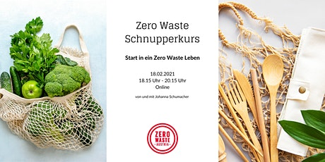 ONLINE Workshop: Start in ein Zero Waste Leben - Schnupperkurs Tickets