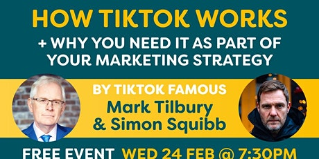 How Tiktok works and why you need it as part of your marketing strategy! tickets