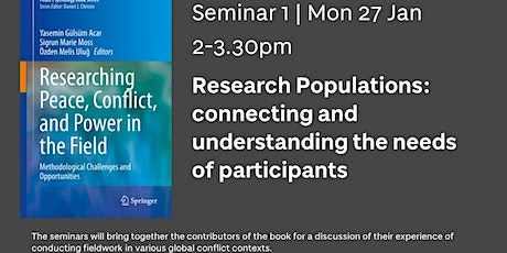 Research Populations | Seminar 1 of 4 tickets