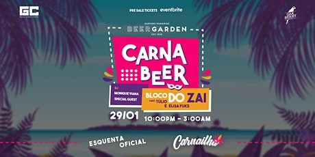 CARNABEER - O esquenta oficial do Carnaílha tickets