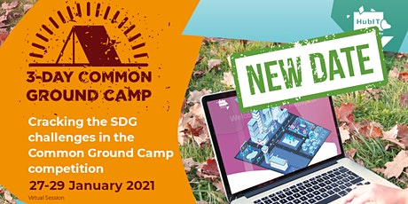 Cracking the SDG challenges in the Common Ground Camp competition tickets