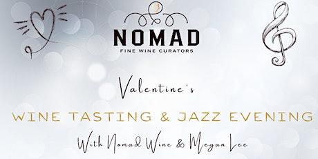 Wine Tasting & Jazz evening tickets