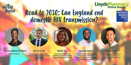 Road to 2030: Can England end domestic HIV transmission tickets