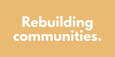 LEADERS TALK: BUILDING BACK RESIILIENT COMMUNITIES tickets