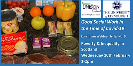 Good Social Work in the Time of Covid-19  Lunchtime Webinar Series No.3 tickets