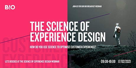 The Science of Experience Design tickets