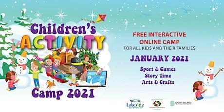 Children's Virtual Activity Camp 2021 tickets