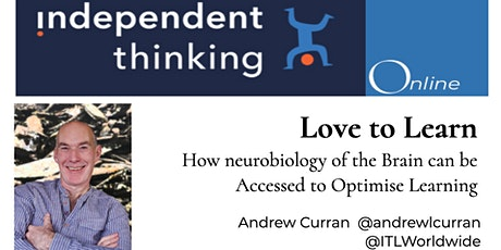 Love to Learn. Access to the Neurobiology of the Brain to Optimise Learning tickets