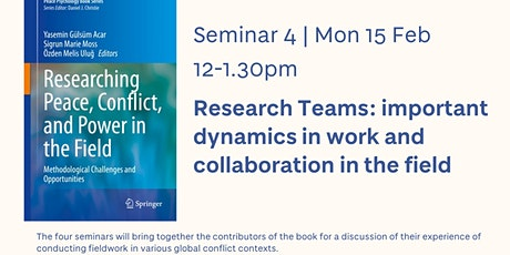 Research Teams | Seminar 4 of 4 tickets