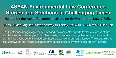 ASEAN Environmental Law Conference tickets