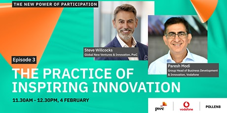 The practice of inspiring innovation tickets