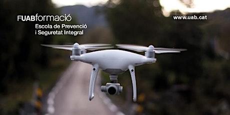 Sesión: Curso de Pilotos y Operadores de Drones en Seguridad y Emergencias entradas