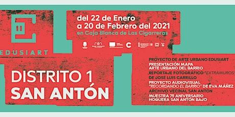 """Proyección del audiovisual """"Recordando el barrio de San Antón"""" entradas"""
