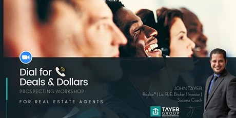 Dial for Deals and Dollars | Realtor Training tickets