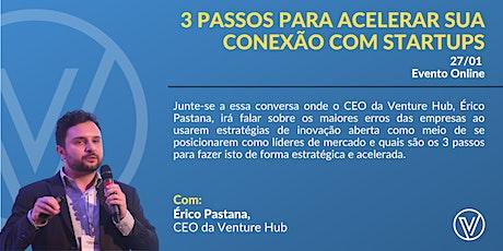 Corporate Innovation: 3 Passos Para Acelerar Sua Conexão Com Startups ingressos