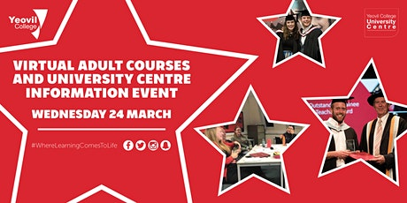 Virtual Adult and University Centre Information Event tickets