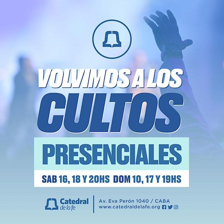 Imagen de Culto presencial - Catedral de la Fe Central - 6 y 7 de Marzo