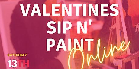 AARTLDN: Valentines Sip N' Paint tickets