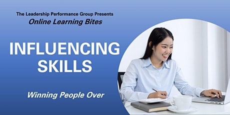 Winning People Over: Influencing Skills (Online - Run 15) tickets