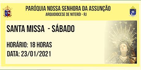 PNSASSUNÇÃO CABO FRIO - SANTA MISSA - SÁBADO - 18 HORAS - 23/01/2021 ingressos