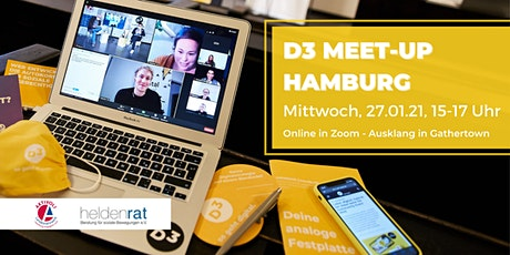D3 Meet-Up in Hamburg Tickets