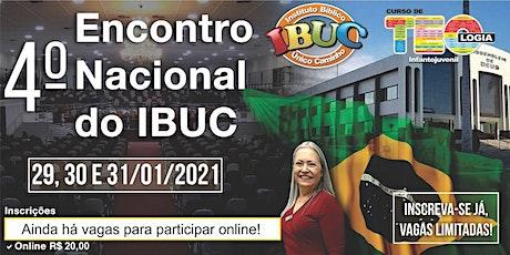 Encontro Nacional IBUC - 2021 ingressos