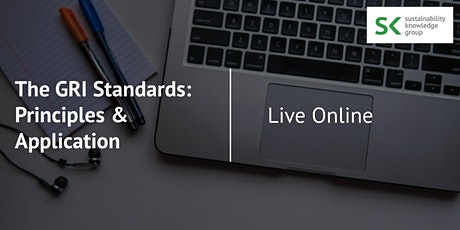 The GRI Standards: Principles and Application - Live Online tickets