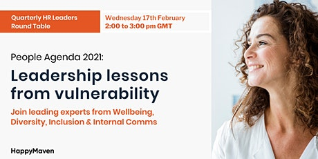 2021 People Agenda : Leadership lessons from vulnerability tickets