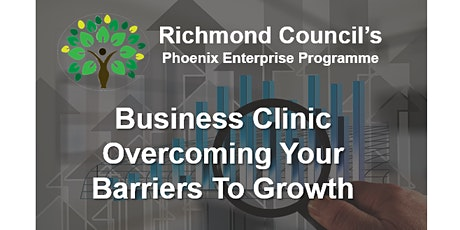 Overcoming Your Barriers to Growth - Business Clinic tickets