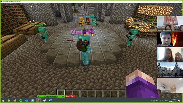 Medieval Times With Minecraft Coding - For Ages 8 to 19 image
