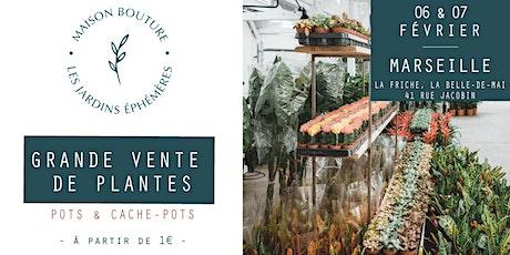 MARSEILLE // VENTE DE PLANTES - Le Jardin Éphémère de Maison Bouture billets