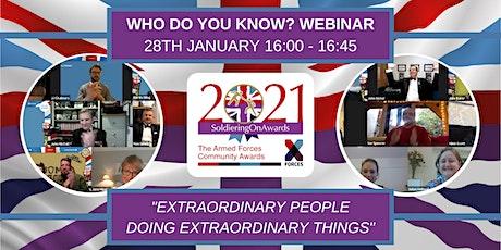 SOA 2021: Who Do You Know? tickets
