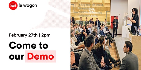 Le Wagon Demo Day - Batch [462] tickets