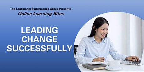 Leading Change Successfully (Online - Run 7) tickets