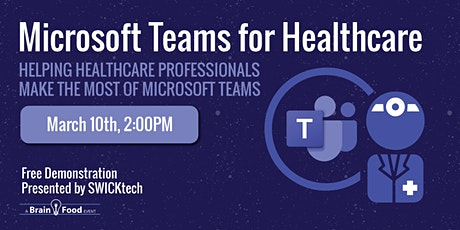 Microsoft Teams for Healthcare tickets