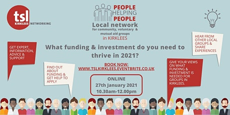 People Helping People: What funding & investment do you need to thrive? tickets