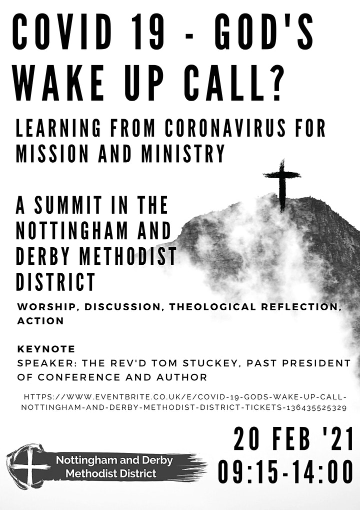 Covid 19 - God's wake up call?: Nottingham and Derby Methodist District image