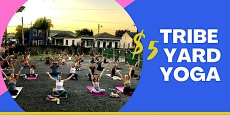 Tribe Yard Yoga tickets