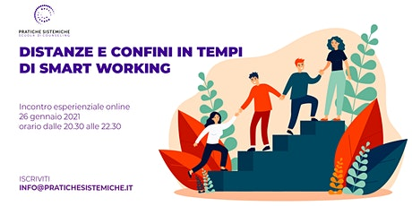 DISTANZE E CONFINI IN TEMPI DI SMART WORKING biglietti