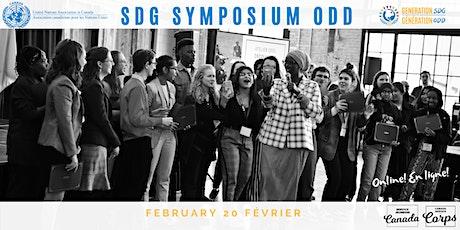 Symposium de Génération ODD tickets
