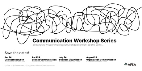 Communication Workshop Series tickets